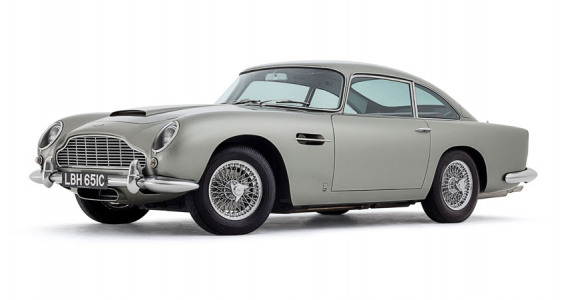 <h5>Aston Martin DB5</h5><p>                                                                              Aston Martin DB5                                                                                                                                                                                                                                                                                                                                                                                                                                                                                                                                                                                                                                                                                                                                                                                                                                                                                                                                                                                                                                                                                                                                       </p>