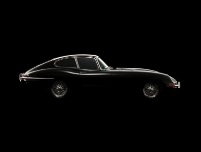 <h5>Jaguar E type Coupe</h5>