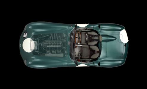 <h5>Aston Martin DBR1 Le Mans winner</h5>