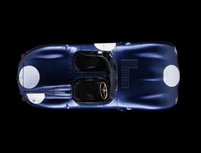 <h5>Jaguar D Type Ecurie Ecosse Le Mans winner</h5>