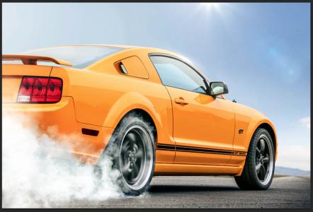 <h5>Mustang wheelspin</h5>