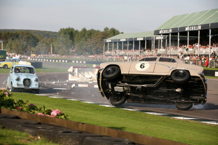 <h5>Goodwood Revival crash</h5>
