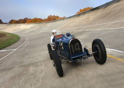 <h5>Bugatti Type 51 at Montlhery</h5>