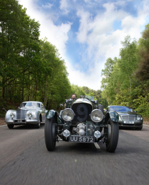 <h5>Bentley trio</h5>