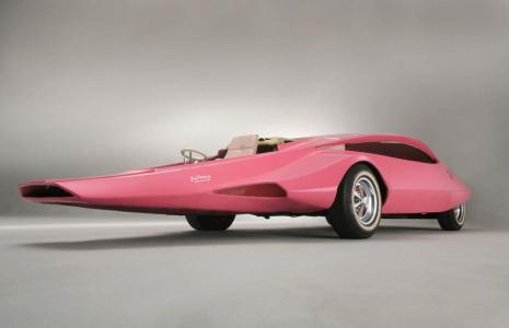 <h5>Pink Panther car</h5>