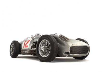 <h5>Mercedes W196 open wheel F1 car</h5>
