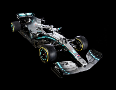<h5>Mercedes 2019 F1 winner</h5>