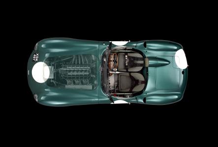 <h5>Le Mans winning Aston Martin DBR1</h5>