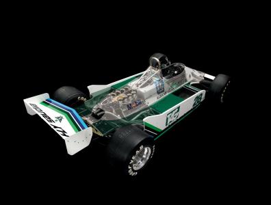<h5>Williams FW07</h5>