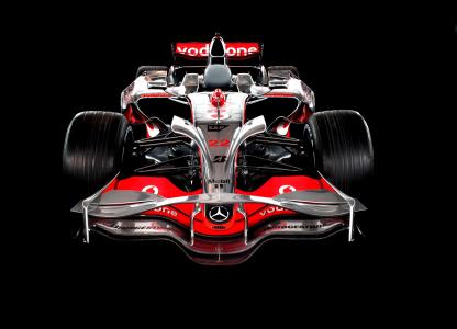 <h5>Lewis' McLaren MP4/23</h5>
