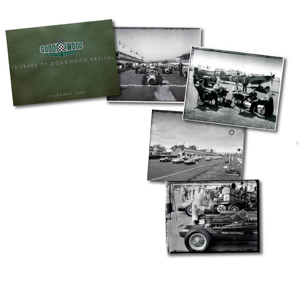 10th anniversary Goodwood Revival calendar