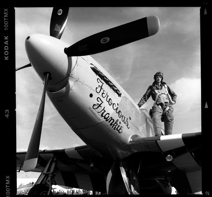 Mustang pilot