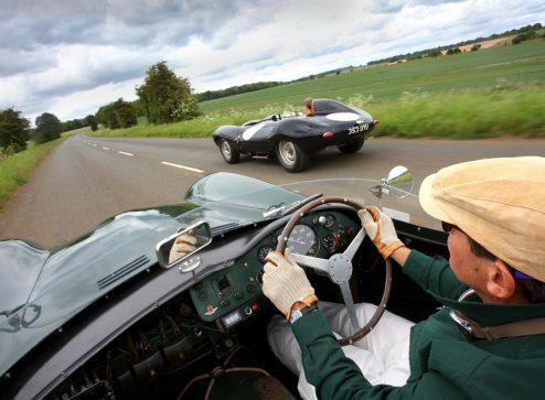 Aston Martin Db3s Vs Jaguar D Type James Mann
